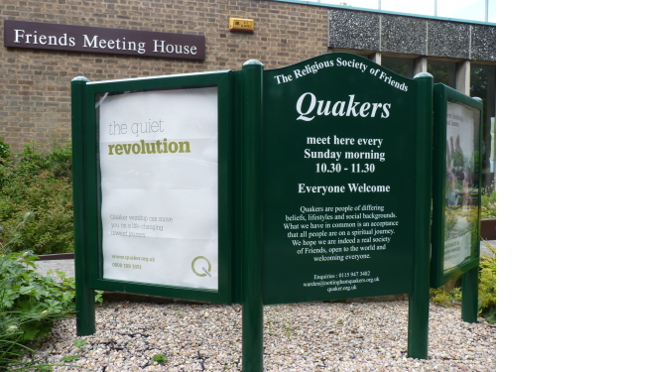 Meeting House sign