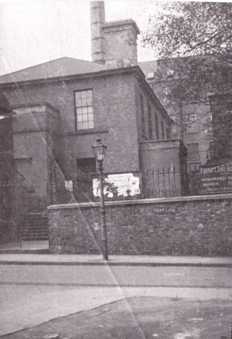 1847 Friar Lane meeting house 1