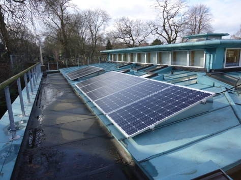 1961 Clarendon Street meeting house 10 Solar panels
