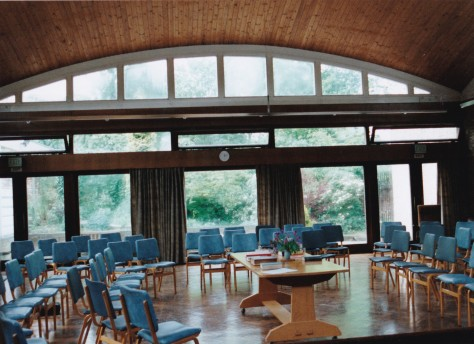 1961 Clarendon Street meeting house 2 Meeting room