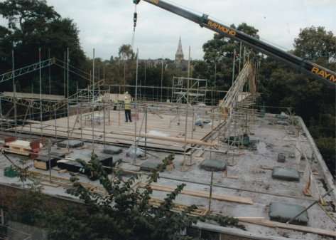 1961 Clarendon Street meeting house 7 New roof 2