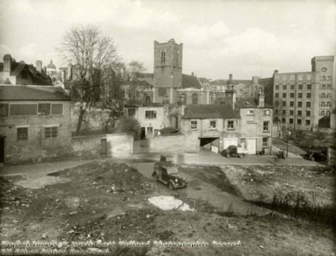 Nottinghamquakers.org.uk image: Site of Walnut Tree Lane burial ground