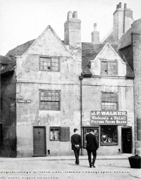 Nottinghamquakers.org.uk image: John Reckless's house (1920s)